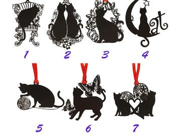 Stainless Steel Cat Bookmarkers, Creative