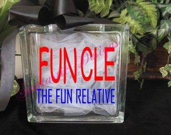 Funcle Cut File, Cricut, MTC, SCAL, Silhouette, ScanNCut, SVG
