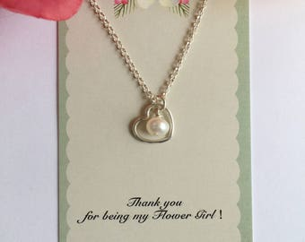 Flower Girl Necklace.