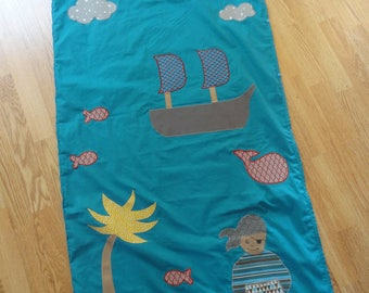 "bag cloth ""Pirates"" customized"