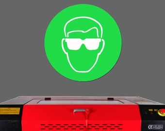 Choosing the right LASER SAFETY EYEWEAR for Chinese CO2 Laser Cutter and Engraver