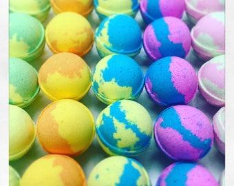 50 Bath bombs - Wholesale Bath bombs - Bulk Bath Bombs - Colorful Bath bombs - Fizzy Bath bombs