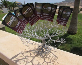 Paperclip Tree of Life Decorative Card Holder or PhotoTree
