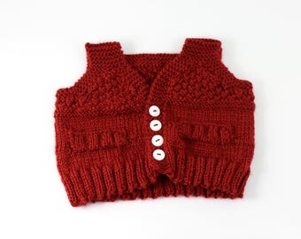 The Distinguished Gentle-baby Sweater Vest