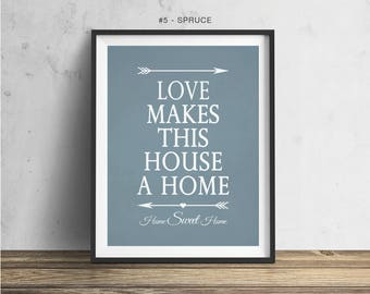 New Home Gift Housewarming Gift First Home Gift House Warming Gift Our First Home Realtor Gift New Apartment Gift Home Sweet Home Sign