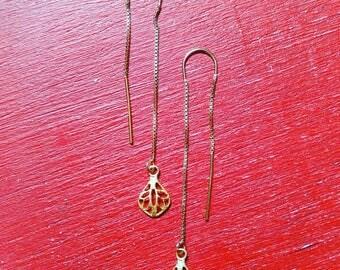 AERA gold filled earrings