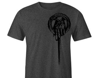 Game of Thrones Shirt, Blacked out Tee, Hand of the King Tee, Stark, Targaryen,Lannister,