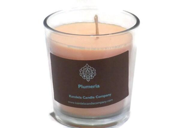 Plumeria Scented Candle in Classic Tumbler