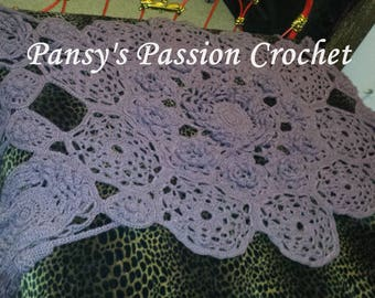 IN STOCK SALE Hand Crocheted Blankets