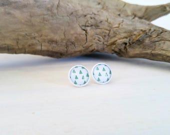 Cabochons - Blanc - 12 mm - Épines de cactus