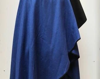 Vintage eighties Windsmoor blanket wrap cloak one size