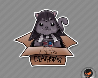 If I Fits, I Siths (sticker)