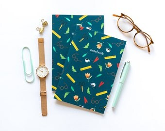 The book of daily - patterned A5 notebook