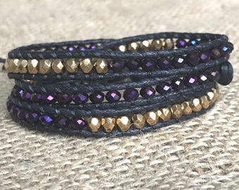 University of Washington Wrap Bracelet