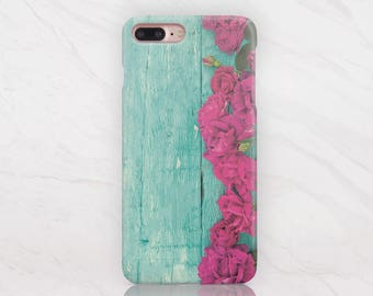 Cute Floral iPhone 5C Case Wood iPhone 7 Case iPhone 5 Case iPhone 6S Plus Case Phone 6 6S Case to Galaxy S5 Edge Case to Samsung S6 RD1657