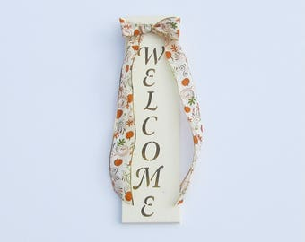 Fall Welcome Sign, Wood Welcome Sign, Fall Door Decoration, Wooden Door Sign, Autumn Door Sign, Fall Celebration, Pallet Sign