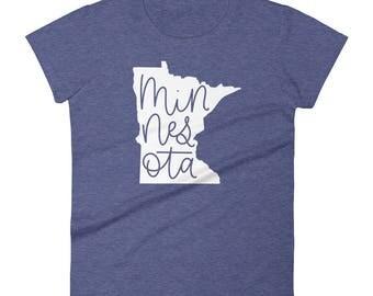 Minnesota Women's short sleeve t-shirt - Multiple Colors