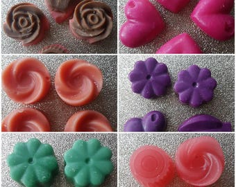 Wax Melts, Wax Tarts, Tealight candles in a variety of scents / room fragrance / for oil burners / soy wax