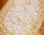2 oval rag rugs
