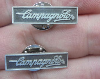 2- Campagnolo hat/lapel pins new