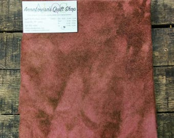 Hand-dyed Wool Fat Quarter -- Raspberry Chocolate Swirl -- FQ 24681