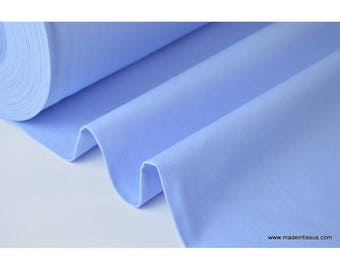 Fabric cotton half mat wide sky blue