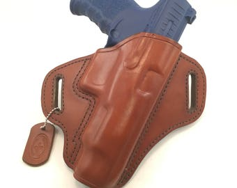 "Walther PPQ 5"" - Handcrafted Leather Pistol Holster"