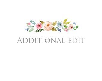 Additional Edit(s)
