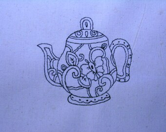 Decorative Teapot 006 4x4