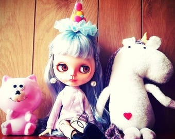 Custom Blythe Dolls For Sale by Blythe Doll Custom. Unicornia