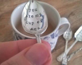 Custom vintage teaspoon order