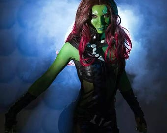 Gamora Marvel Guardians of the Galaxy cosplay costume