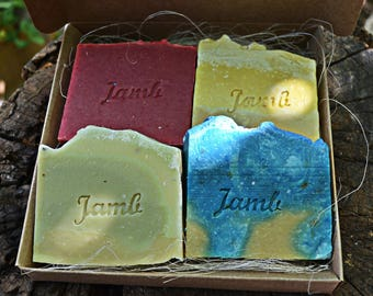 4 Soap Box - natural soap, artisan soap, soap with properties, soap for detail, soap for gift, vegan soap.