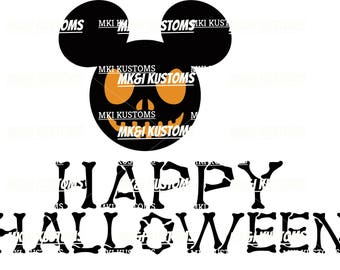 Disney Svg/ Mickey Mouse Svg/ Halloween Svg/ Disney Halloween Svg/ Halloween Mickey Svg/ Disney Cut Files for Cricut/ Disney Cut Files