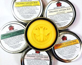 Lotion Bar, Organic Lotion Bar, Solid Lotion, Shea Butter, Moisturizer, Body Lotion, Organic Jojoba, Organic Moisturizer, Shea Butter Lotion