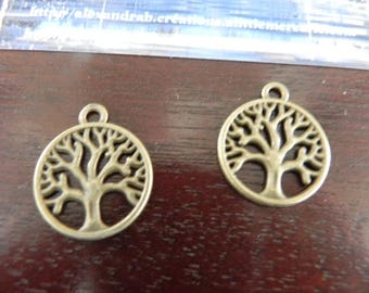 bronze tree of life 2 charms
