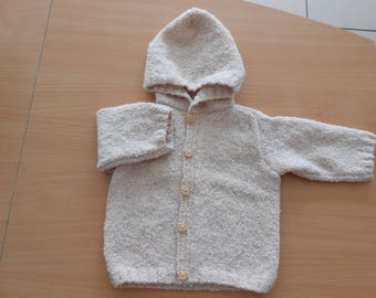 baby hooded vest size 6 months