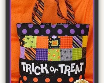 Trick or Treat Tote Bag Kit