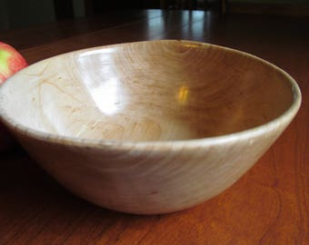Small Vermont Maple Bowl