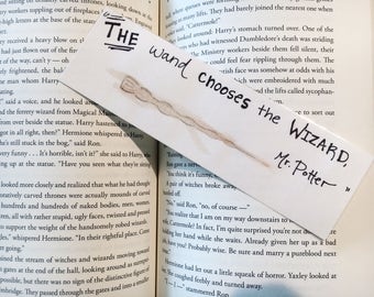Wands and Wizards Bookmark