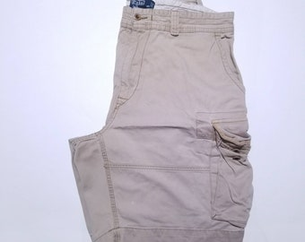 Polo by Ralph Lauren Vintage Chino Cargo Pocketed Shorts 38