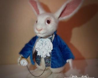 """White Rabbit from """"Alice in Wonderland""""//White bunny from """"Alice in Wonderland"""""""