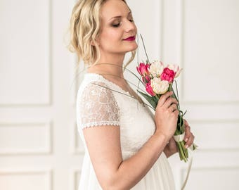 "Maternity wedding dress ""Ziedi"""