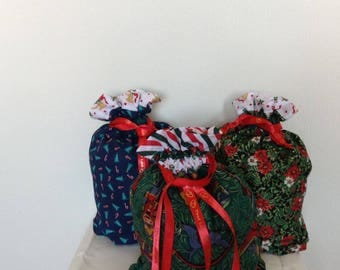 Christmas  Draw String Gift Sacks