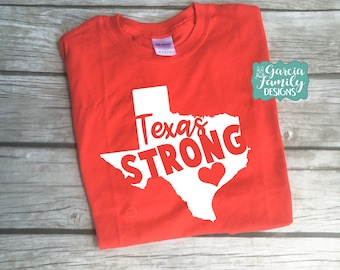 Texas Strong Shirt, Houston Texas, Prayers For Houston, United We Stand, Proceeds to go to Relief Fund, Texas Strong Houston Shirt