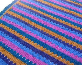 Beautiful hand crafted baby blanket