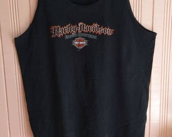 Vintage Harley Davidson Tanks / Harley Davidson Motorclothes Made in USA