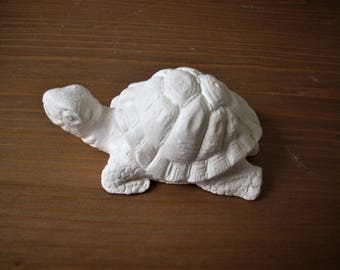 Christmas day gift, free shipping, Meerschaum turtle, gift ideas, hand carved dog figure, handmade gift