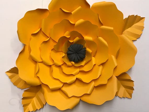 Do It Yourself Large Paper Flower Kit From