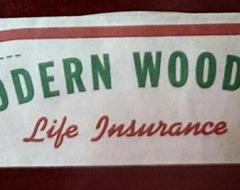1950s Modern Woodmen Paper Hat